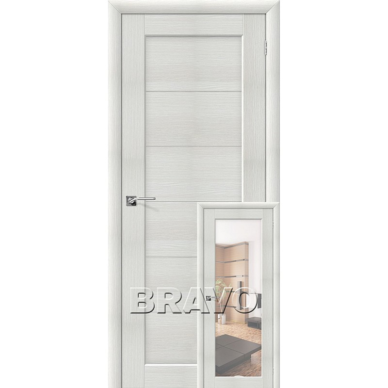 Аква-1/2 Bianco Veralinga (Аква двери)