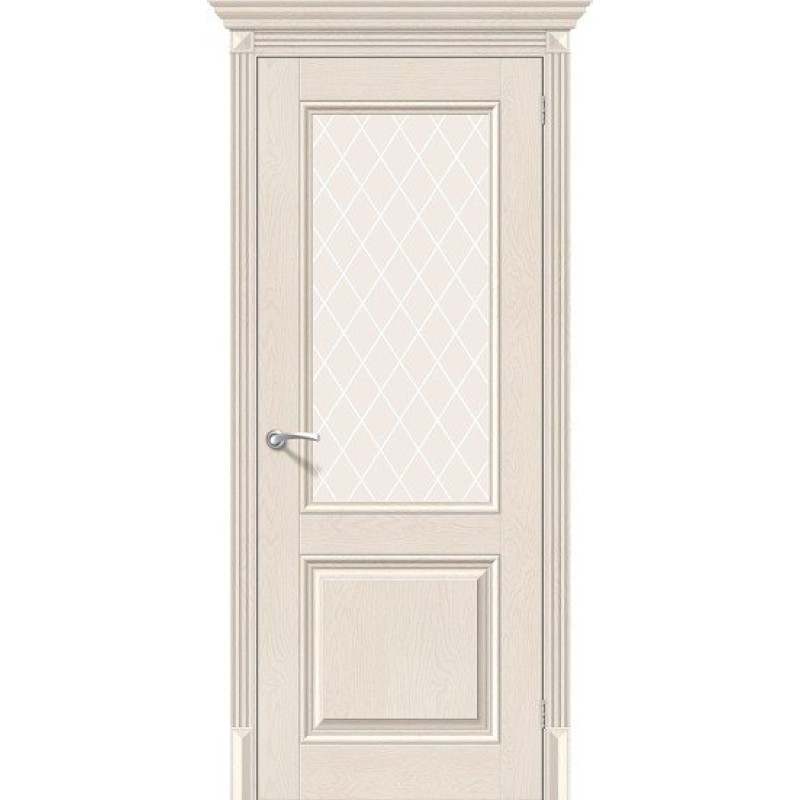 Классико-33 Cappuccino Softwood / White Сrystal